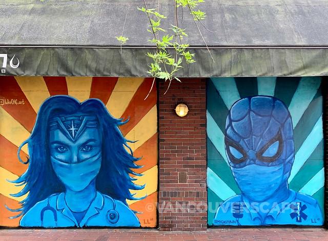 Gastown COVID-19 murals-11