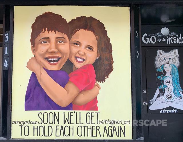 Gastown COVID-19 murals-4
