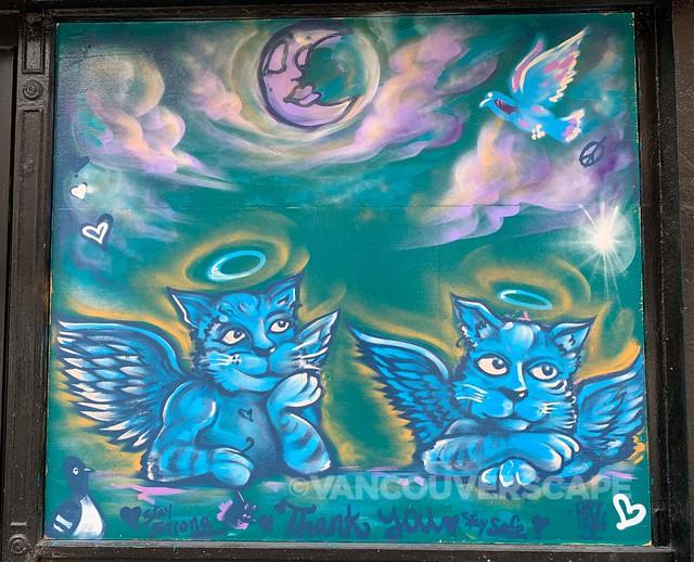 Gastown COVID-19 murals-3