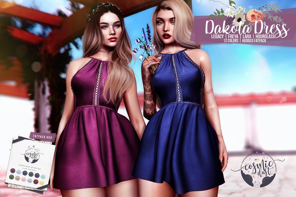 [Cosmic Dust]  – The Dakota Dress @ Kustom9