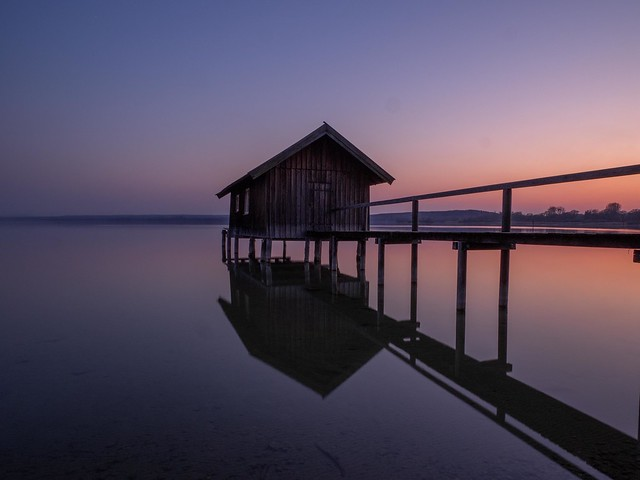 Silence at the boathouse