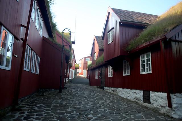 Tórshavn Faroe Islands Parliament buildings