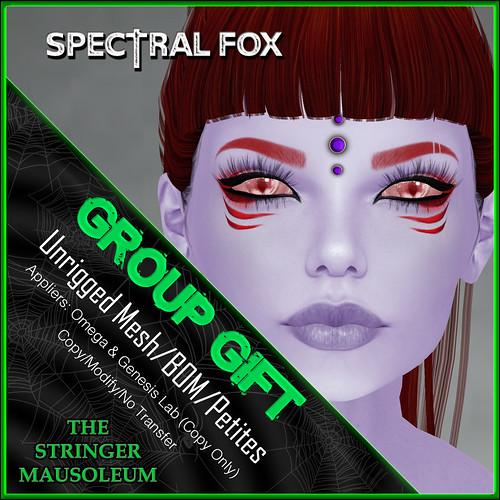 The Stringer Mausoleum - E - Spectral Fox Eyes - GG