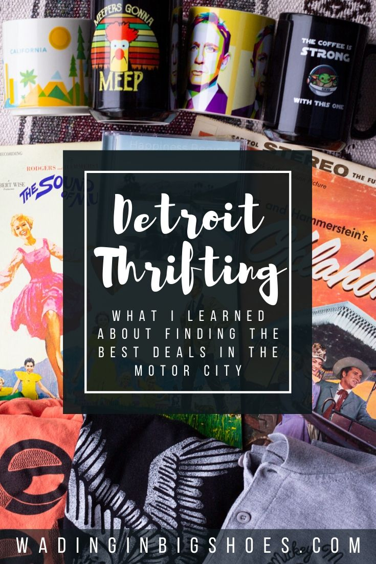 Wading in Big Shoes - These Detroit Thrift Stores Turned Out To Be More Than I Bargained For