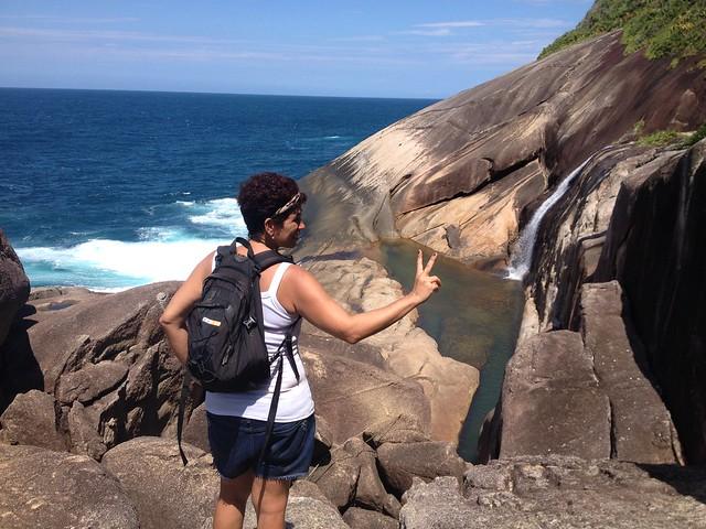 Cachoeira do Saco Bravo, Ponta Negra Paraty . RJ