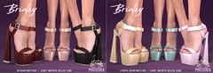 """Phedora for Equal10 ~ """"Brinley Heels Megapack"""