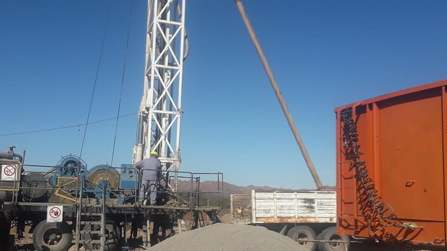 Inspección a pozo de agua potable en Huaco
