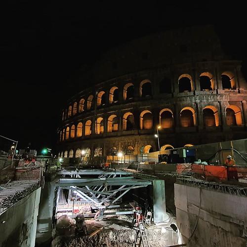 ROMA ARCHEOLOGIA e RESTAURO ARCHITETTURA 2020: Roma Metro C - LA STAZIONE FORI IMPERIALI: AVANZAMENTO LAVORI E ATTIVITÀ IN CORSO / LA STAZIONE FORI IMPERIALI E L'ARCHEOLOGIA. Metro C scpa (13/05/2020).