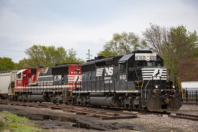 D49 Leaving UP yard