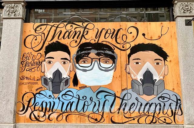 Gastown COVID-19 murals-17