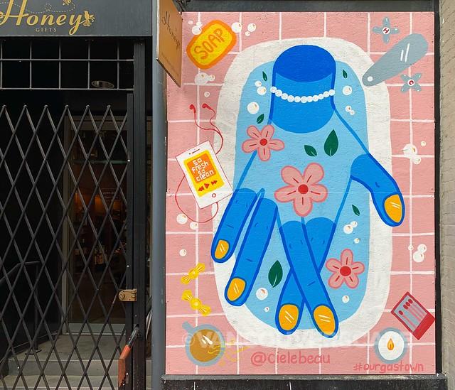 Gastown COVID-19 murals-9
