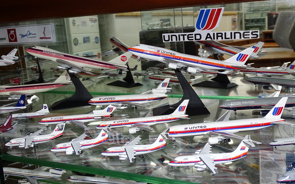 United Airlines 1:400 Scale Model Aircraft Fleet Part 4