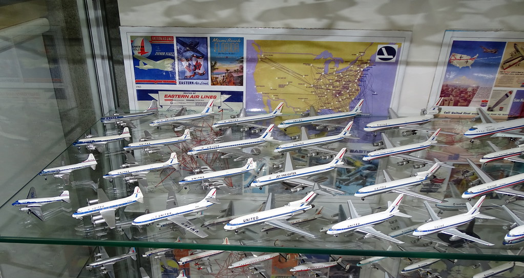 United Airlines 1:400 Scale Model Aircraft Fleet Part 1