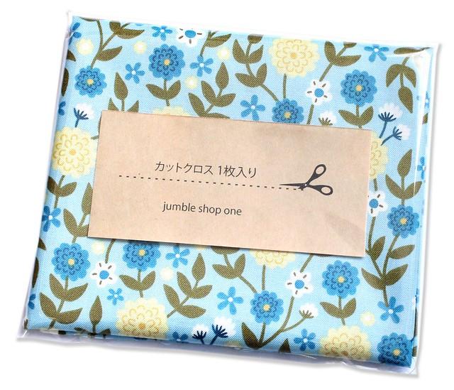 カットクロス Felicity Fabrics Summer Garden in Blueberry 610025