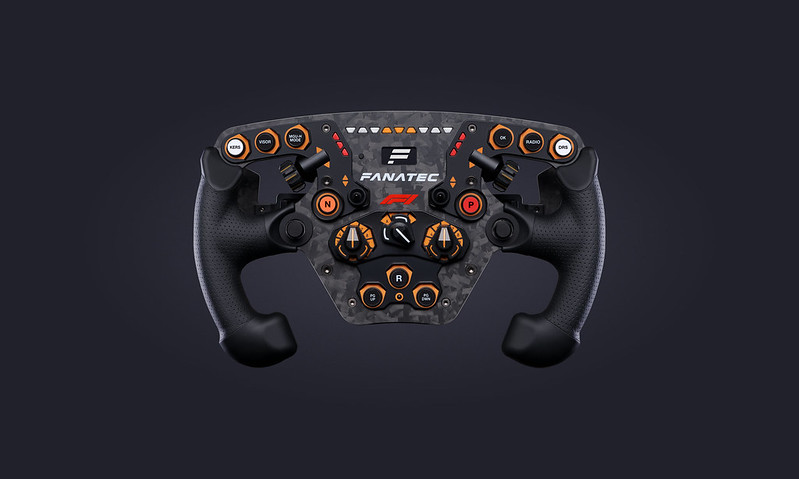 Fanatec Limited Edition ClubSport Steering Wheel F1 2020