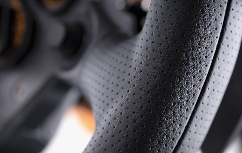 Perforated Leather Grips