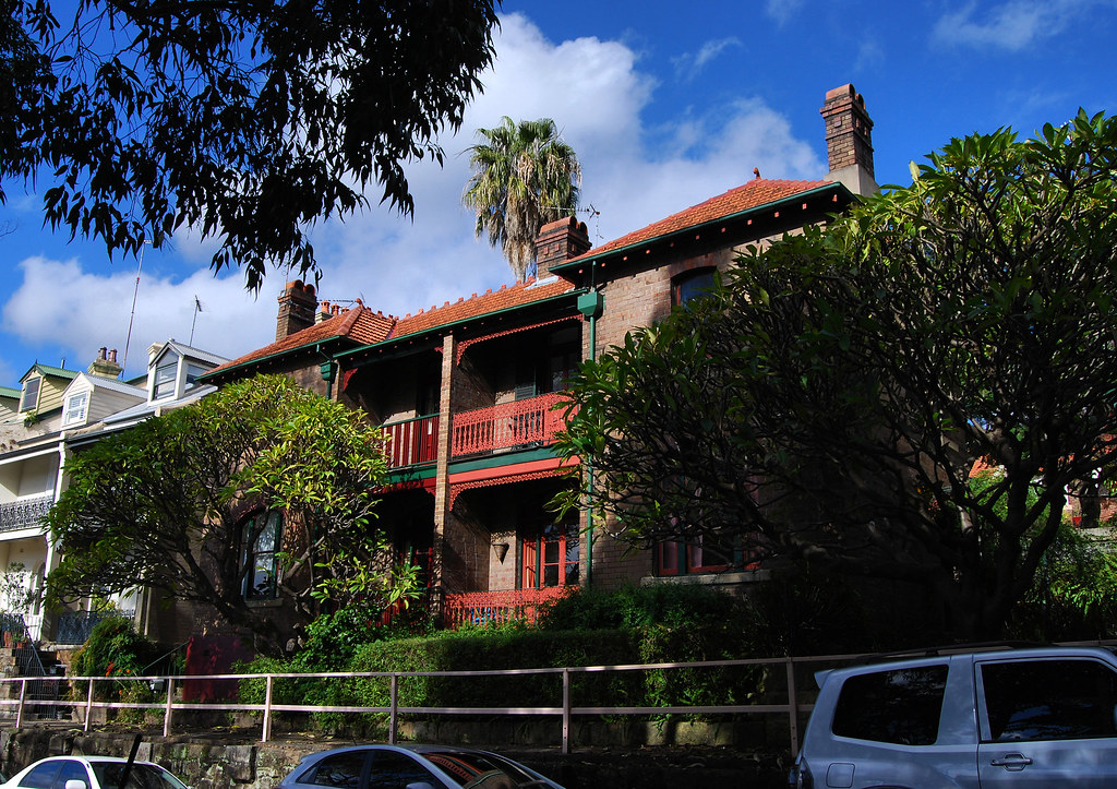 House, Willoughby St, Kirribilli, Sydney, NSW.