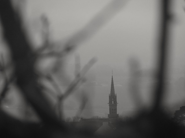 le clocher  ..the steeple