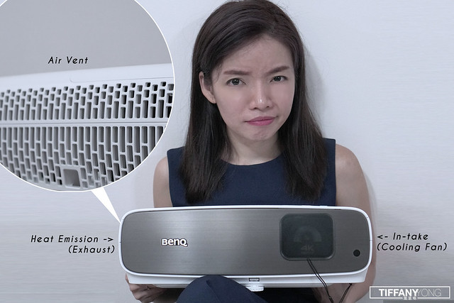 BenQ Tiffany Yong W2700 Projector