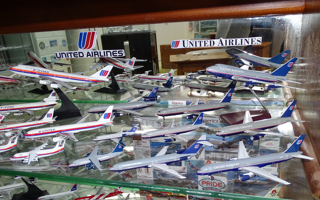 United Airlines 1:400 Scale Model Aircraft Fleet Part 5