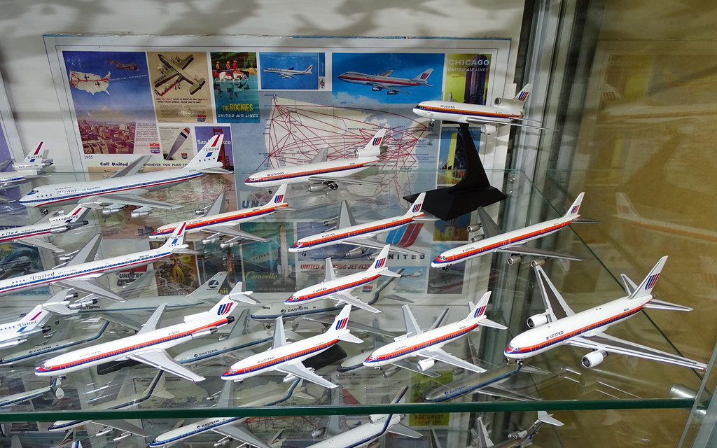 United Airlines 1:400 Scale Model Aircraft Fleet Part 3