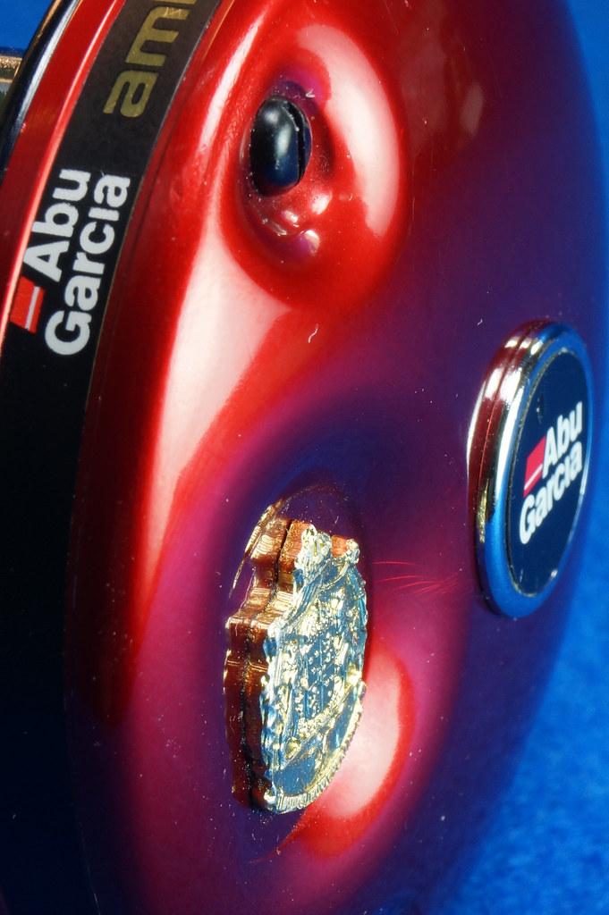 RD16601 Vintage Abu Garcia Ambassador 5000 High Speed Fishing Reel Made in Sweden DSC04422