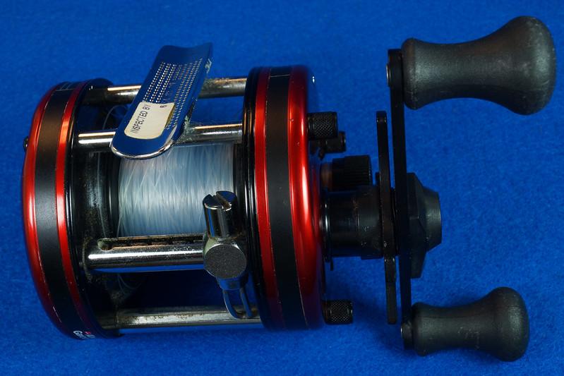 RD16601 Vintage Abu Garcia Ambassador 5000 High Speed Fishing Reel Made in Sweden DSC04419