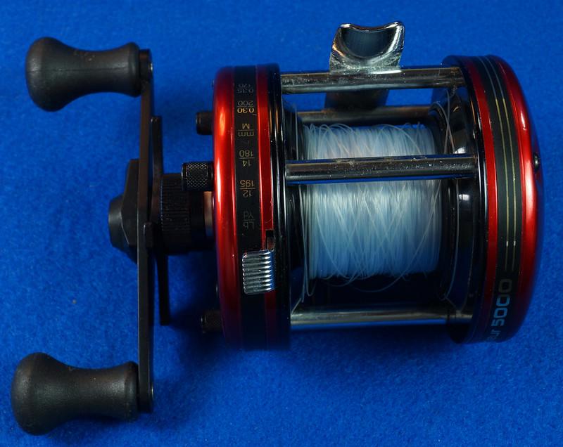 RD16601 Vintage Abu Garcia Ambassador 5000 High Speed Fishing Reel Made in Sweden DSC04418