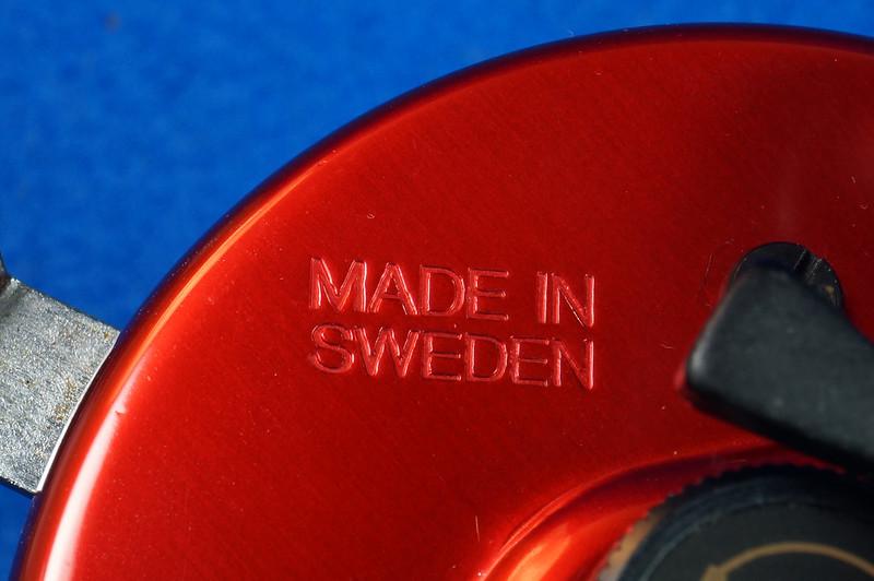 RD16601 Vintage Abu Garcia Ambassador 5000 High Speed Fishing Reel Made in Sweden DSC04416
