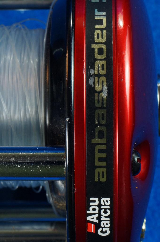 RD16601 Vintage Abu Garcia Ambassador 5000 High Speed Fishing Reel Made in Sweden DSC04415