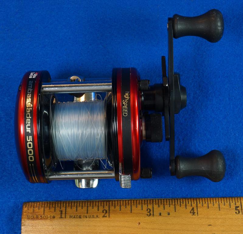 RD16601 Vintage Abu Garcia Ambassador 5000 High Speed Fishing Reel Made in Sweden .DSC04411