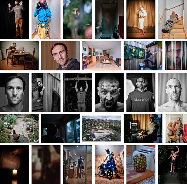 Lock Down Selfie Collage