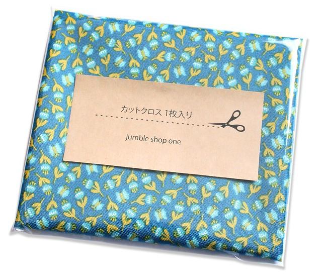 カットクロス Felicity Fabrics Summer Garden in Blueberry 610023