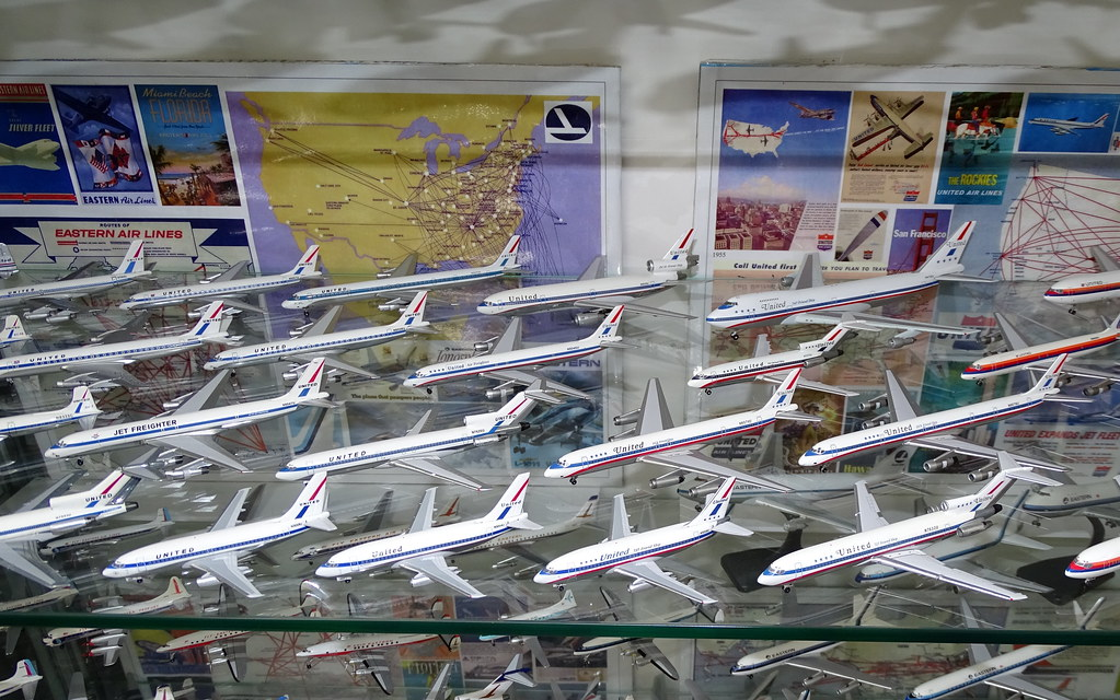 United Airlines 1:400 Scale Model Aircraft Fleet Part 2