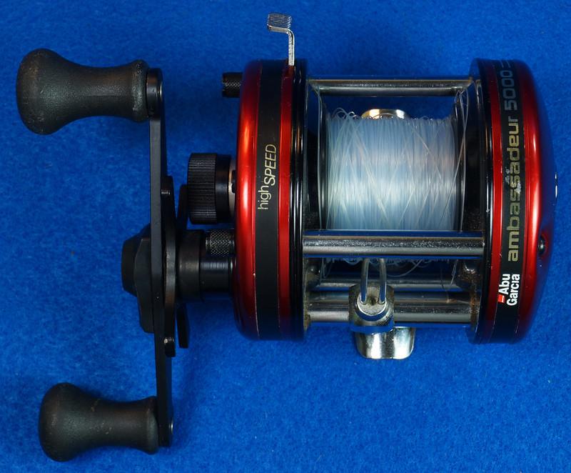 RD16601 Vintage Abu Garcia Ambassador 5000 High Speed Fishing Reel Made in Sweden DSC04412