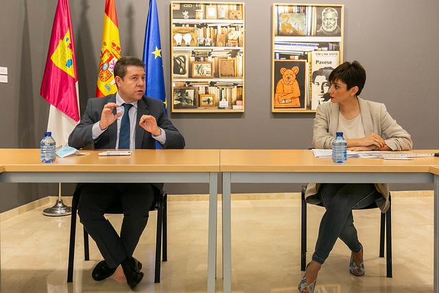 Reunión con la alcaldesa de Puertollano