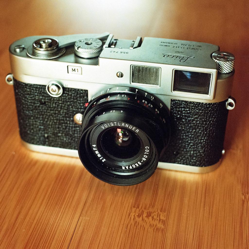 Leica M1 with Cosina Voigtländer Color Skopar 21/4