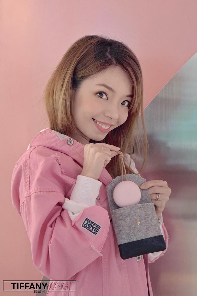 Tiffany Yong Sudio Fem Pink Pouch