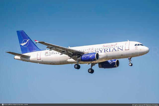 ORY.2009 | #Syrian.Arab.Airlines #RB #Airbus #A320 #YK-AKD #Mari #awp