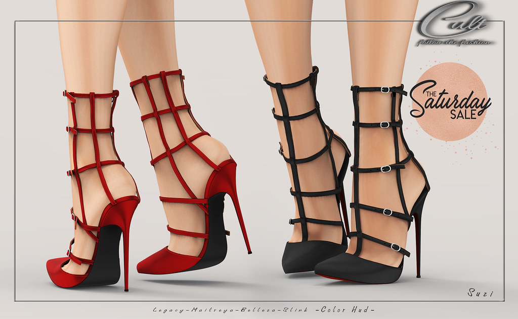 : CULT : Suzi Heels with HUD