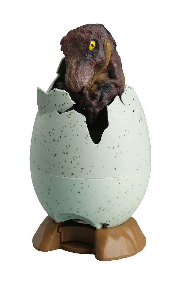 存越多長大越快~SHINE 破殼而出的「恐龍孵化」創意存錢筒 (恐竜の孵化 貯金箱)