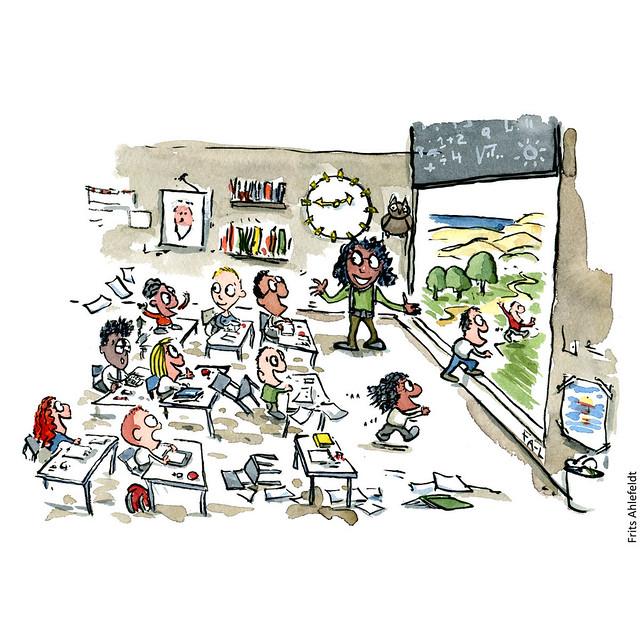 Di00041-illustration-school-opens-up-outside-path-hiking-frits-ahlefeldt