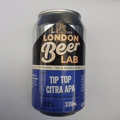 London Beer Lab Tip Top Citra APA (330 ml can)
