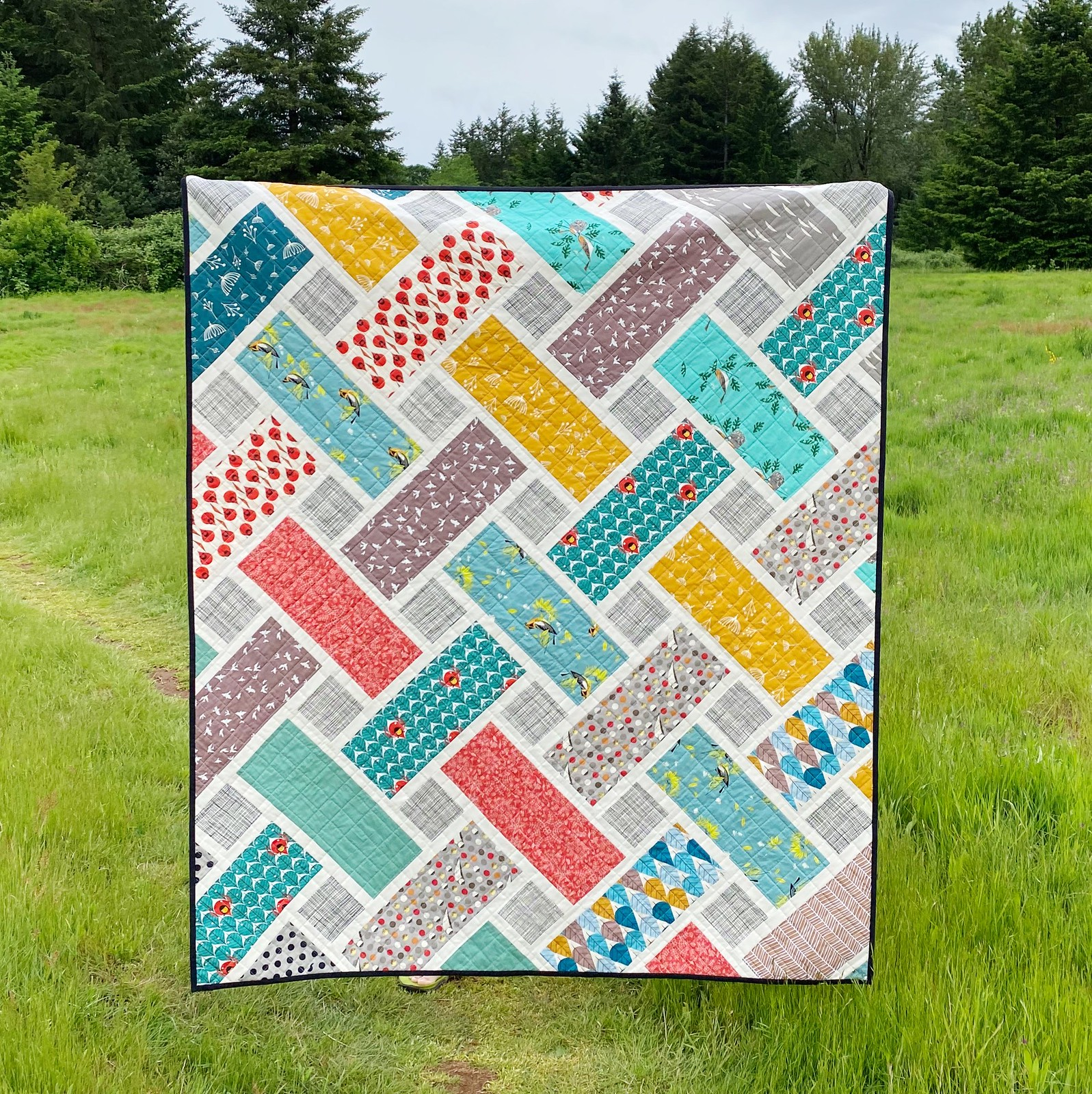 Put a Bird on It Tessa Quilt - Kitchen Table Quilting