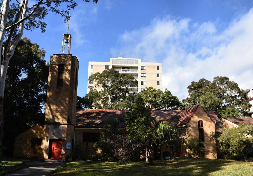 St Basil's Anglican Church, Artarmon, Sydney, NSW.