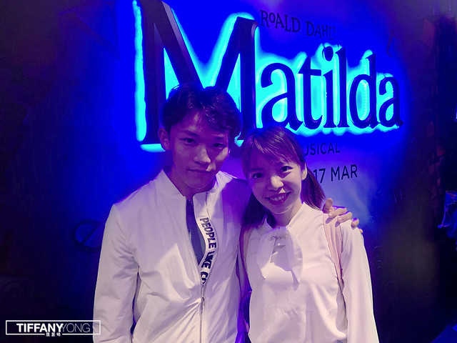 Peps Goh Tiffany Yong Matilda Musical