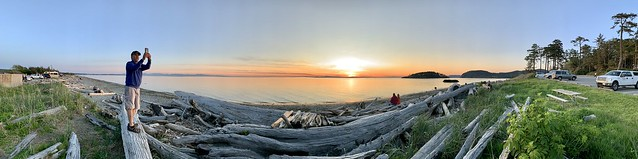 Sunset at Deception Pass, Oak Harbor, Washington