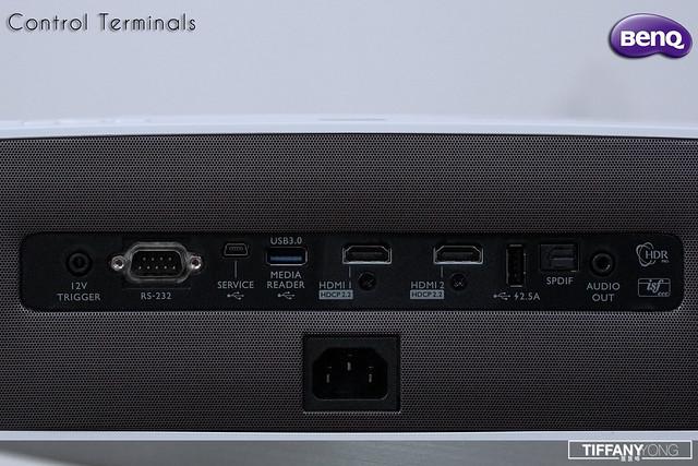 BenQ W2700 Control Terminals