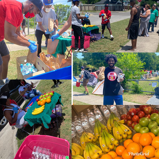 We C🙏N Now servicing the homeless communities the essentials such as Alkaline water, Fruits, Hygiene and much more through (Covid-19)