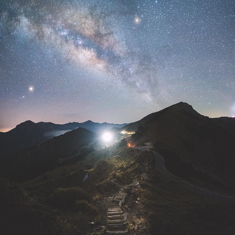 石門山銀河 Milkyway at Mt.Shihmen